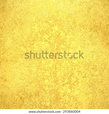 gold background, shiny painted wall or metal in distressed vintage texture, bright shiny solid gold page, graphic art paper background design for websites brochures posters and other designs - stock photo
