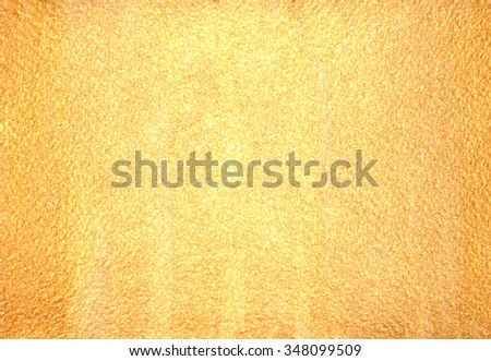 Gold Background Texture Paints Brushes Stock Illustration 348099509