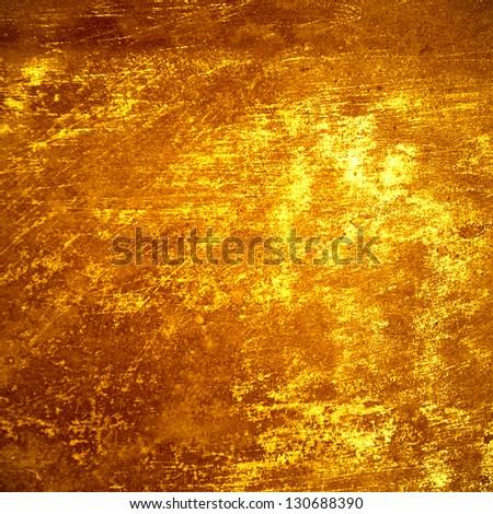 gold bar background - stock photo