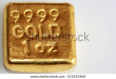 Gold bar billion