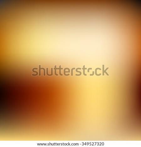 Gold blur background - stock photo