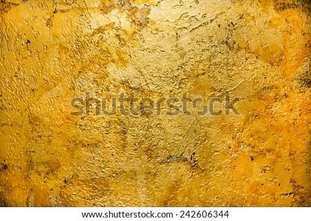 gold bronze backround texture - stock photo
