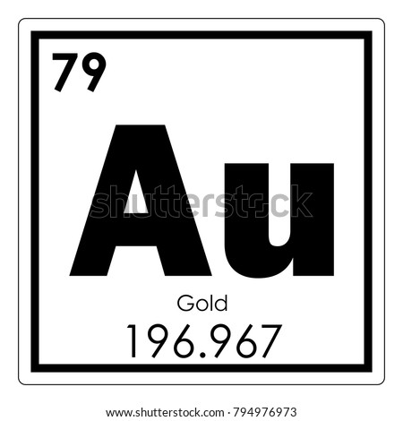 Gold chemical element periodic table science stock illustration gold chemical element periodic table science symbol urtaz
