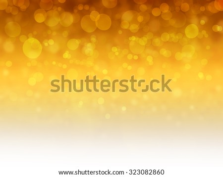 Gold christmas abstract background , bokeh background - stock photo
