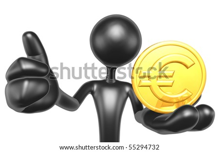 Gold Coin Thumbs Up