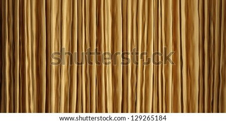 Gold color cloth - stock photo