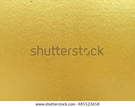 Gold concrete wall texture background