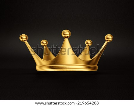 Gold crown background - photo#51