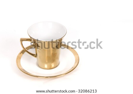 Gold Cup - stock photo