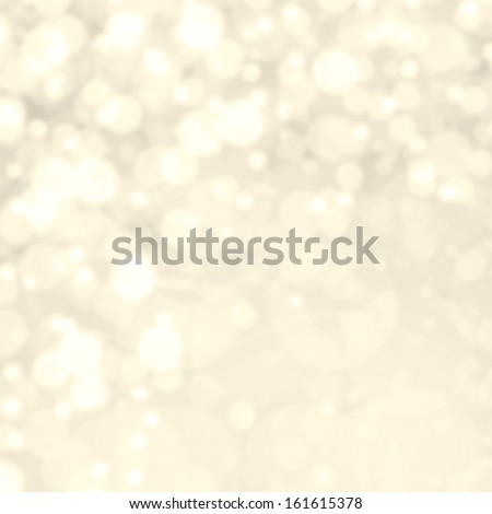 Gold Festive Christmas background. Abstract twinkled bright background with  golden lights - stock photo
