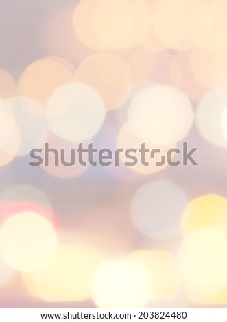 Gold Festive Christmas background with bokeh defocused golden lights. Elegant abstract background