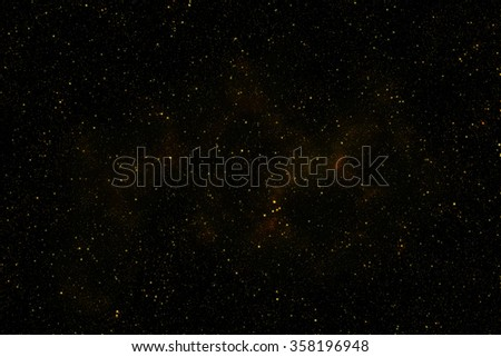 "Gold galaxy glitter background. Glitter stars background ""Elements of this image furnished by NASA"""