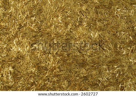 Gold glitter abstract close up background.