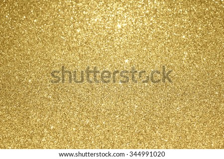 Gold glitter background  - stock photo