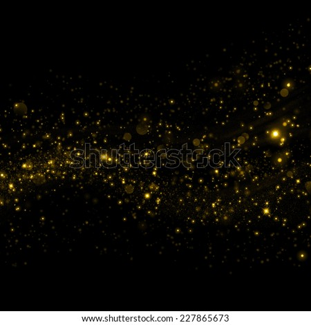 Gold glittering sparkle background