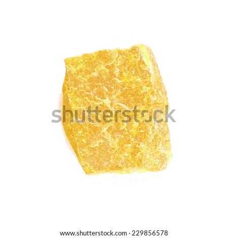 gold granite stone - stock photo