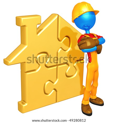 Gold Home Puzzle