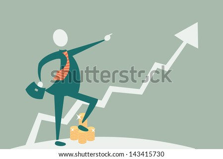 Gold Investment - stock photo