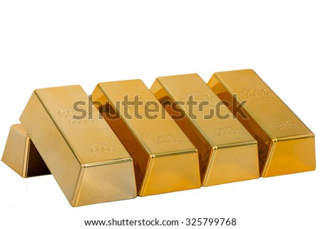 Gold isolated