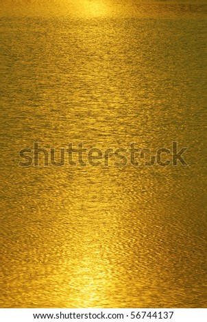 Gold light abstract