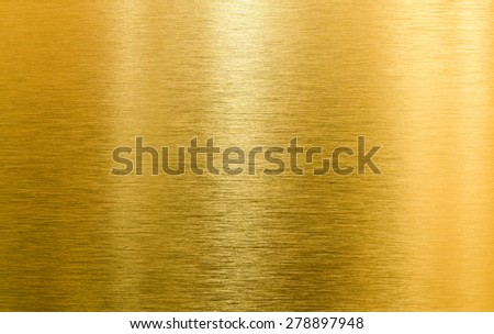 gold metal high quality texture - stock photo
