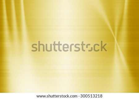 Gold metal texture background - stock photo