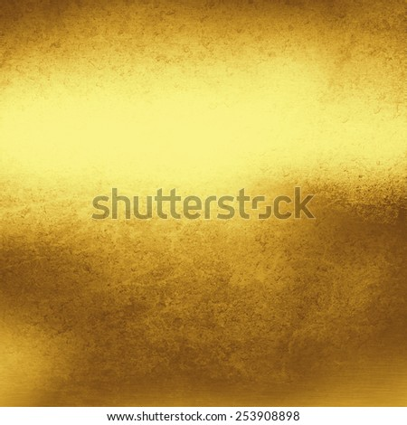 gold metal texture grunge background - stock photo