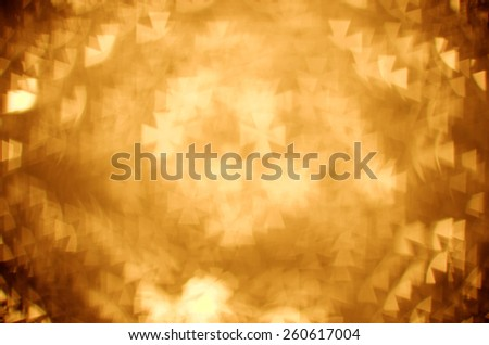 gold pattee cross bokeh background - stock photo