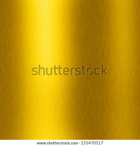gold plate with reflection