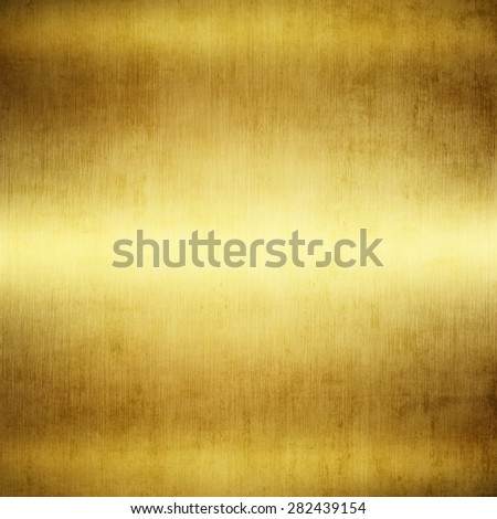 gold polished metal, steel texture. - stock photo