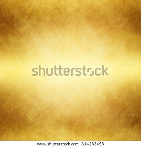 Gold polished metal. Steel Texture - stock photo