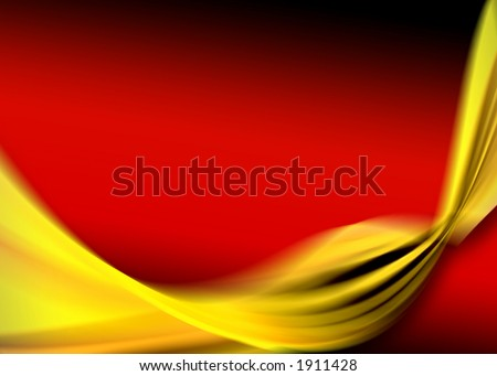 gold red abstract design