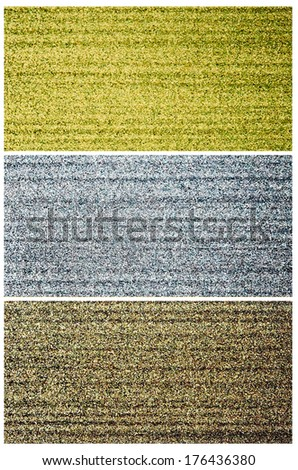 Gold, silver and bronze surface  - stock photo