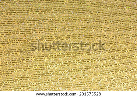 Gold sparkle glitter background.  - stock photo