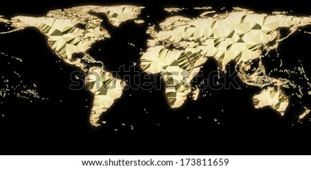 Gold texture world map design best stock illustration 173811659 gold texture world map design best for texturing in 3d programs gumiabroncs Image collections