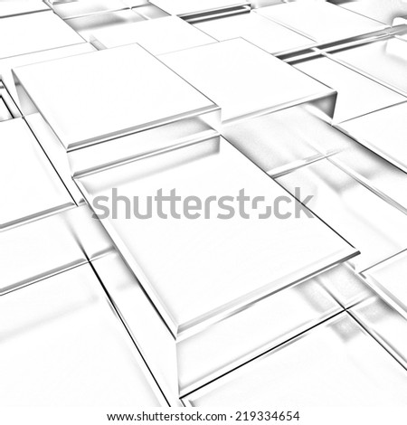 Gold urban background (close-up). Pencil drawing  - stock photo