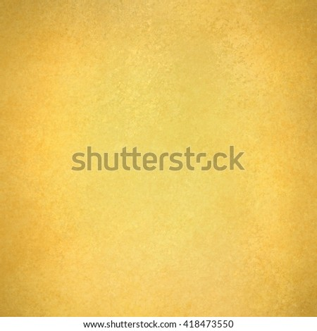 gold vintage background with brown edges, gold paper - stock photo