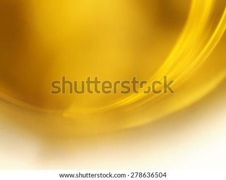 Gold yellow curve abstract background. - stock photo