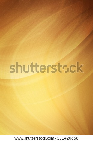 Golden abstract background with lights and highlights - stock photo
