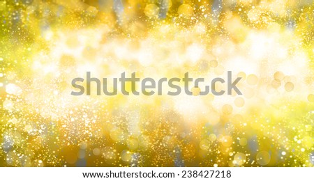 Golden Abstract holidays background.Merry Christmas - stock photo