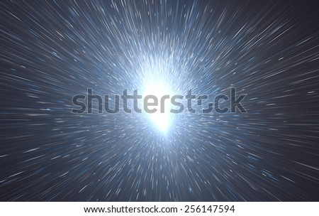Golden abstract magic light background.
