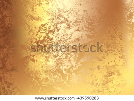 Golden abstract     painted   background  for  design .