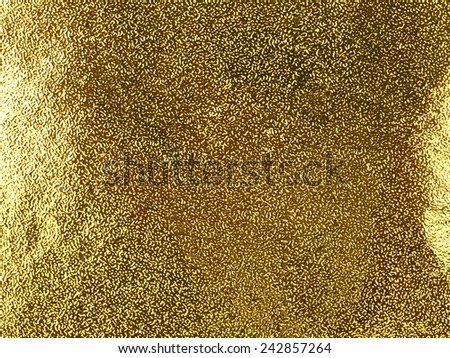 Golden abstract paper texture for background   - stock photo