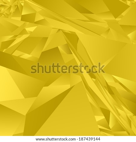 Golden abstract rectangle pattern background - jpeg version - stock photo