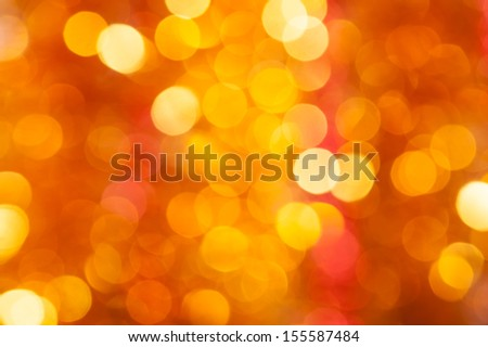 golden and red circle background - stock photo