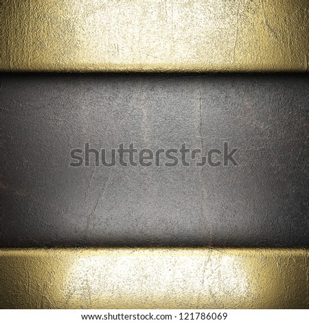 golden background made in 3D