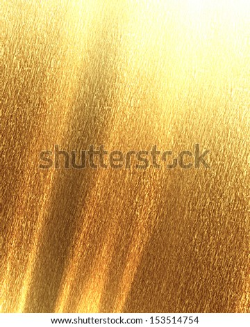 golden background texture with some fine grain in it - stock photo