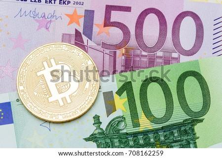 Golden bitcoin euro background bitcoin cryptocurrency stock photo golden bitcoin euro background bitcoin cryptocurrency high resolution photo ccuart Image collections