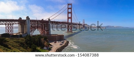 Golden Bridge, San Francisco Bay
