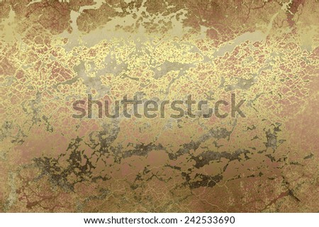 Golden brown , abstract  background , with   painted  grunge background texture for  design . Concept  holiday, happiness , color in light .   - stock photo